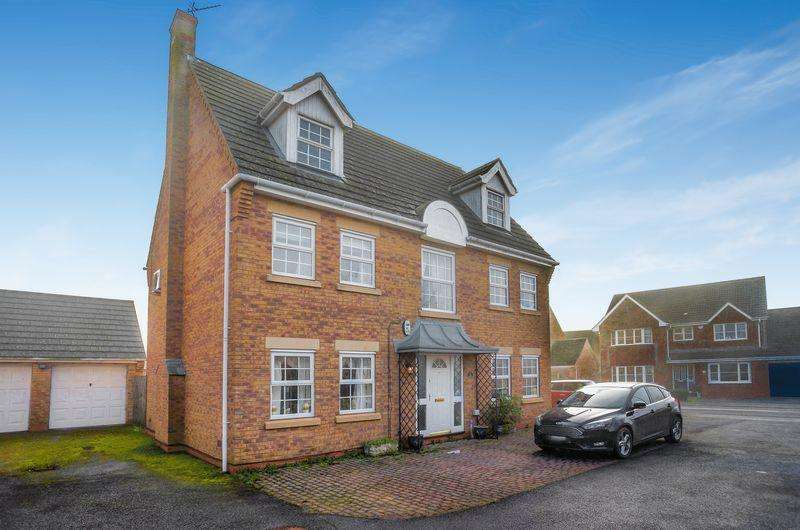 5 Bedrooms Detached House for sale in Belisana Road, Spalding
