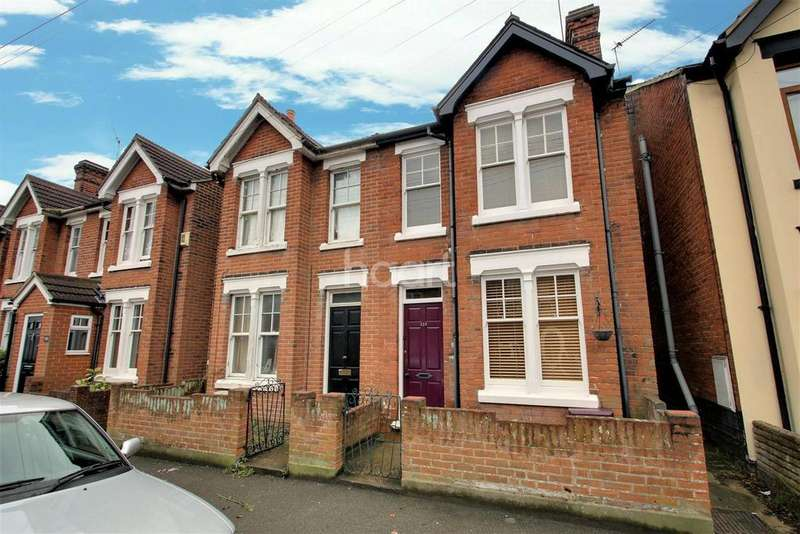 3 Bedrooms Semi Detached House for sale in Morant Road, Colchester.