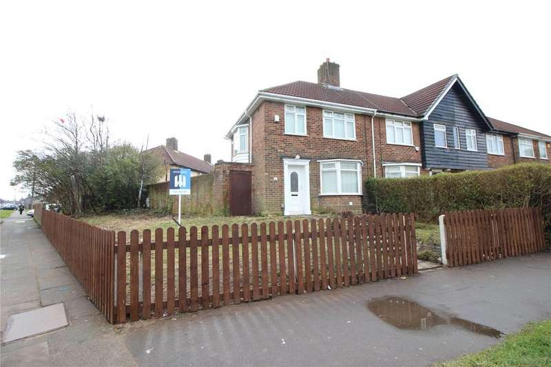 3 Bedrooms End Of Terrace House for rent in Princess Drive, Liverpool, Merseyside, L14