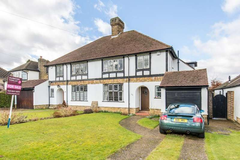 3 Bedrooms Semi Detached House for sale in North Down, Sanderstead, Surrey, CR2 9PA
