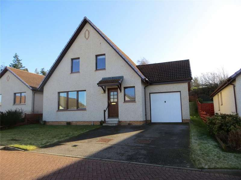 3 Bedrooms Detached House for sale in Towerhill Avenue, Cradlehall, Inverness