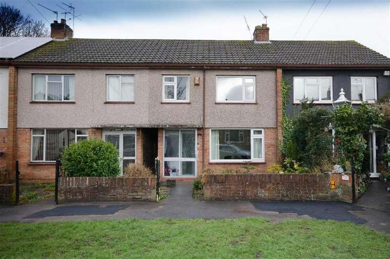 3 Bedrooms Terraced House for sale in Lodge Walk, Downend, Bristol, BS16 5UQ