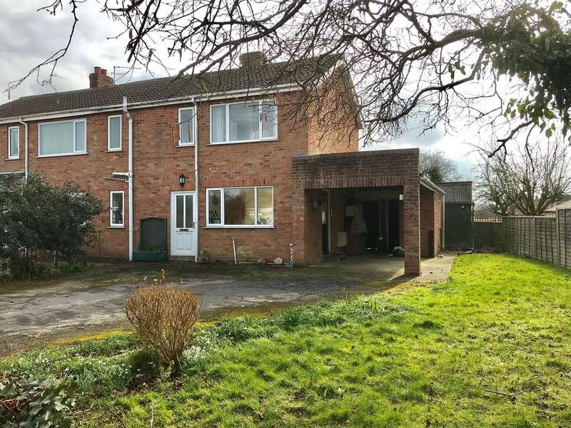 3 Bedrooms Semi Detached House for sale in Towndam Lane, Donington, Spalding, PE11