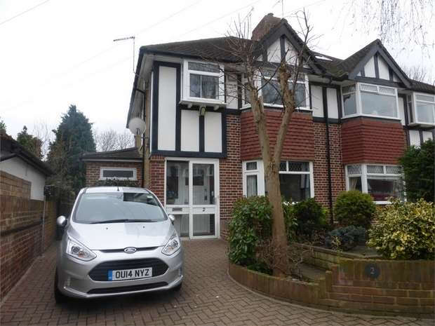 3 Bedrooms Semi Detached House for sale in Whitton Manor Road, Isleworth, Middlesex