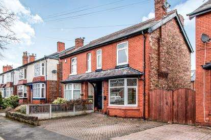 3 Bedrooms Semi Detached House for sale in Urban Road, Sale, Manchester
