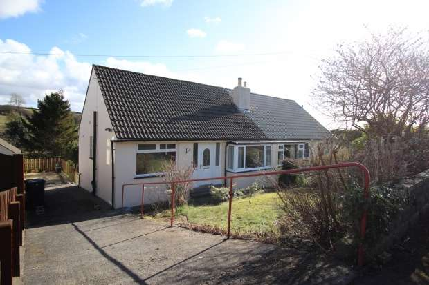 2 Bedrooms Semi Detached Bungalow for sale in Church Hill, Carnforth, Lancashire, LA6 1ER