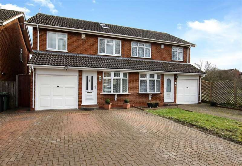 4 Bedrooms Semi Detached House for sale in Aquila Road, Leighton Buzzard