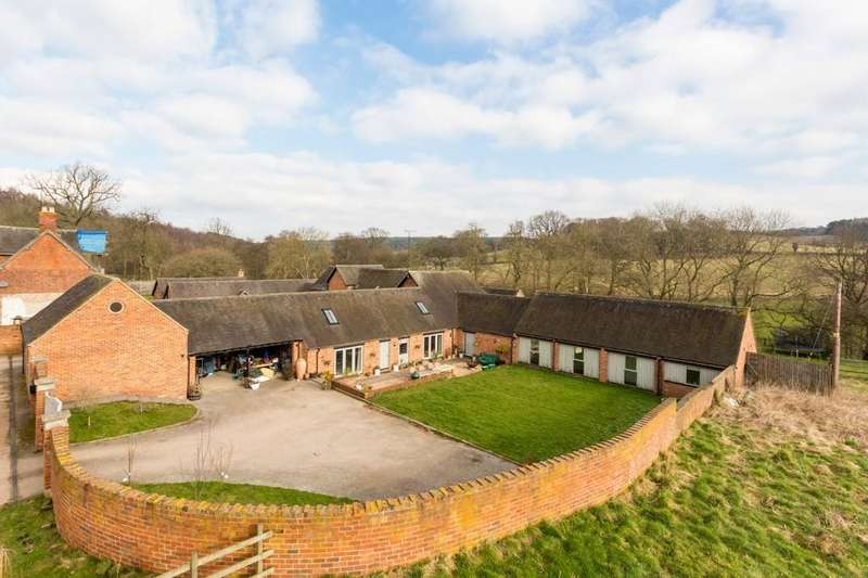 4 Bedrooms Barn Conversion Character Property for sale in Hoofies Farm, Repton Road, Hartshorne