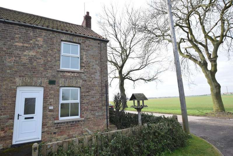 2 Bedrooms End Of Terrace House for sale in Mere Dyke Road, Luddington, Scunthorpe, DN17 4RD