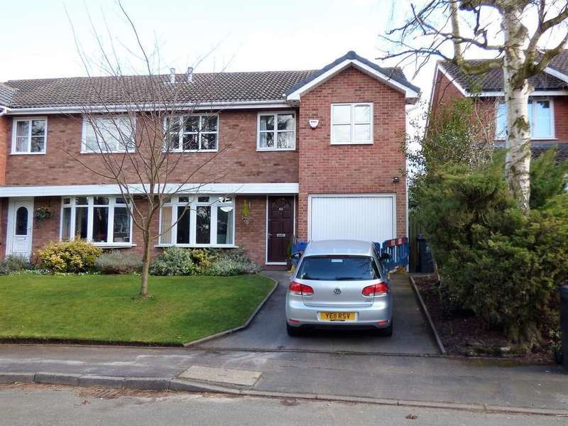 5 Bedrooms Semi Detached House for sale in Hazel Grove, Lichfield