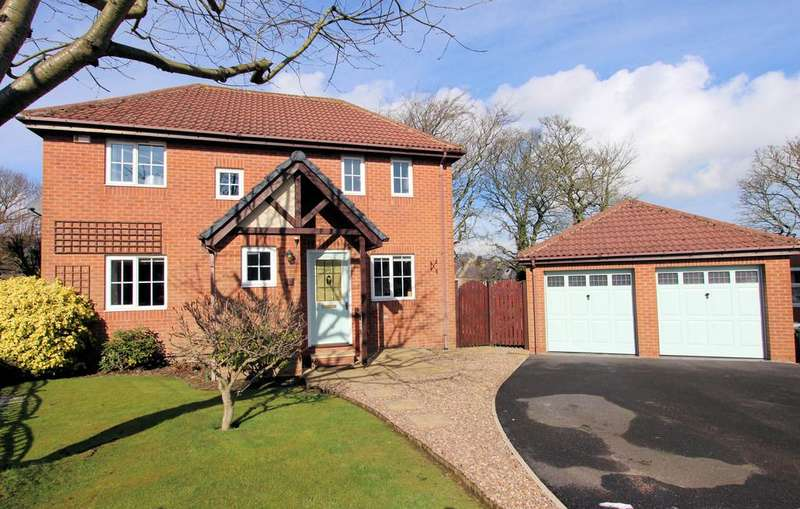 4 Bedrooms Detached House for sale in Salters Way, Penistone, Sheffield