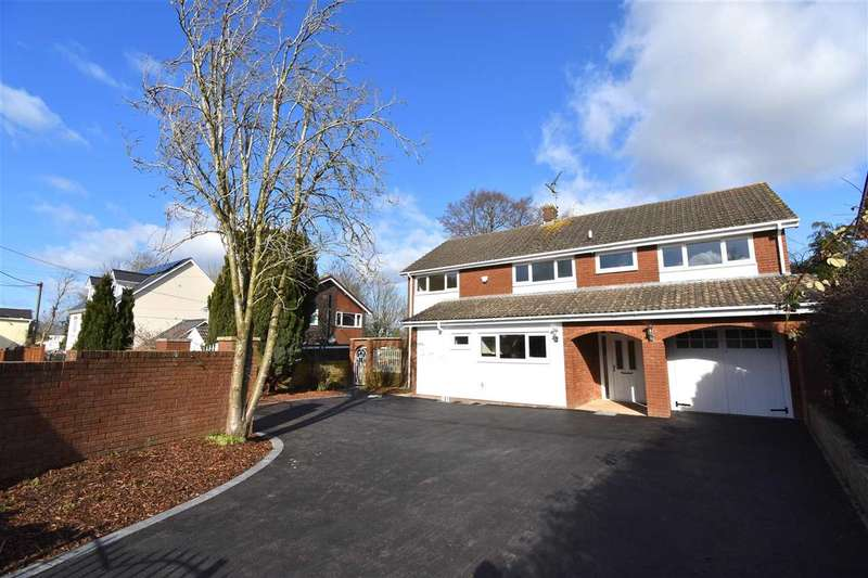 4 Bedrooms Detached House for sale in Ambleside, Primrose Green, Raglan