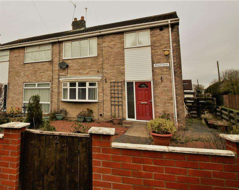 3 Bedrooms Semi Detached House for sale in Three Bed Semi located on Court Leet in Hutton Henry, Hartlepool, TS27 4RR