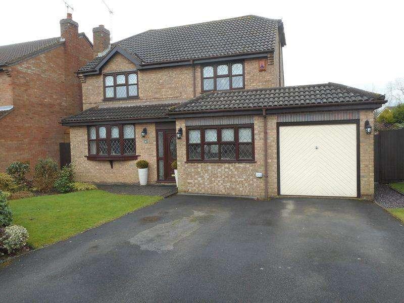 4 Bedrooms Detached House for sale in Falstaff Close, Whitestone, Nuneaton