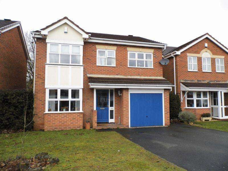 4 Bedrooms Detached House for sale in Fairburn Crescent, Pelsall, Walsall