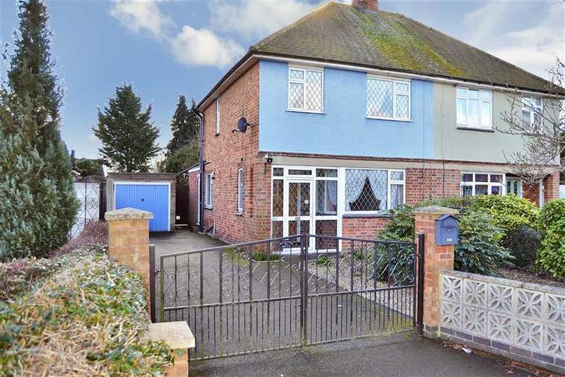 2 Bedrooms Semi Detached House for sale in Scotland Road, Market Harborough
