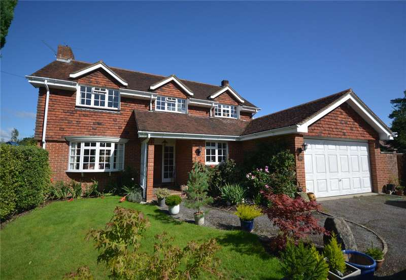 4 Bedrooms Detached House for sale in Knapp Lane, Ampfield, Romsey, Hampshire, SO51