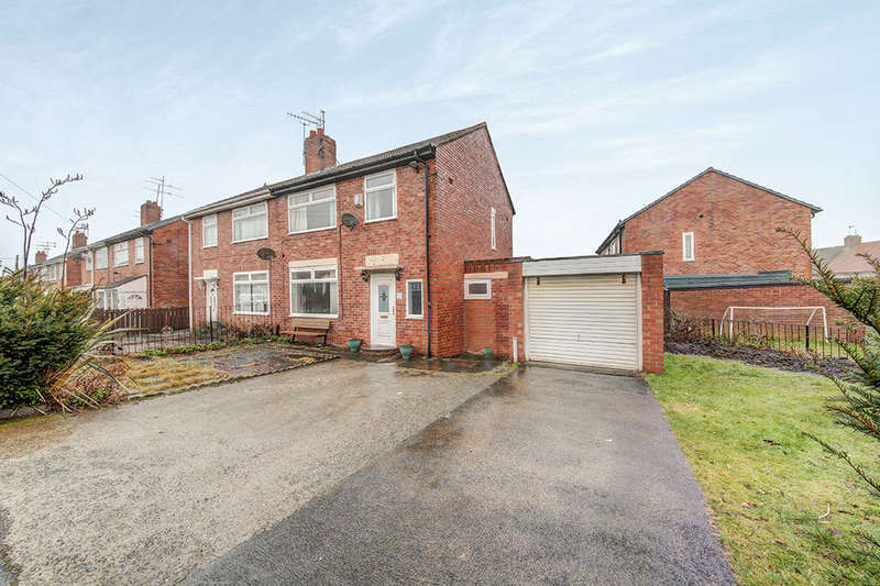 3 Bedrooms Semi Detached House for sale in Gladstonbury Place, Newcastle Upon Tyne, NE12