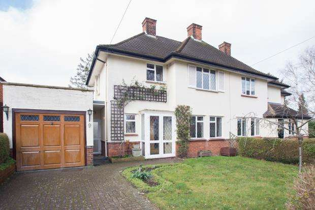 2 Bedrooms Semi Detached House for sale in Banstead, Surrey, England