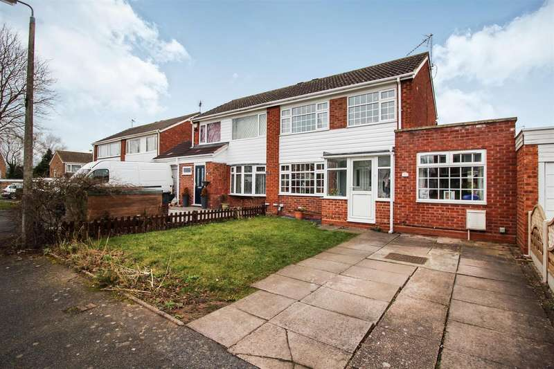 3 Bedrooms Semi Detached House for sale in Badger Close, Redditch