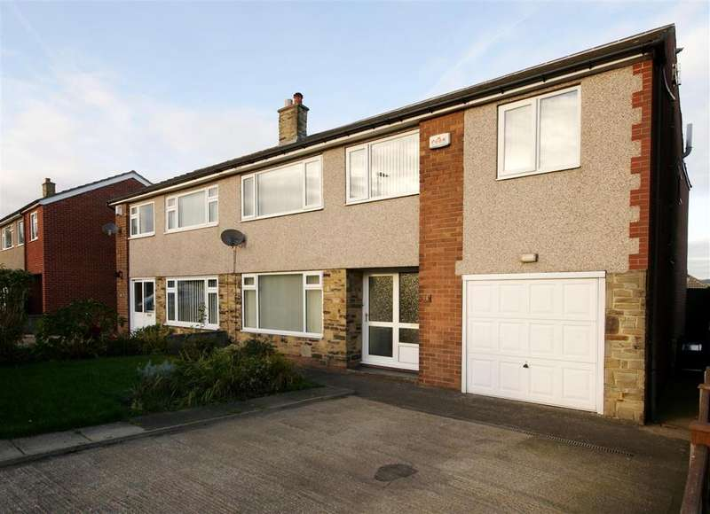 5 Bedrooms Semi Detached House for sale in Ashlea Avenue, Brighouse