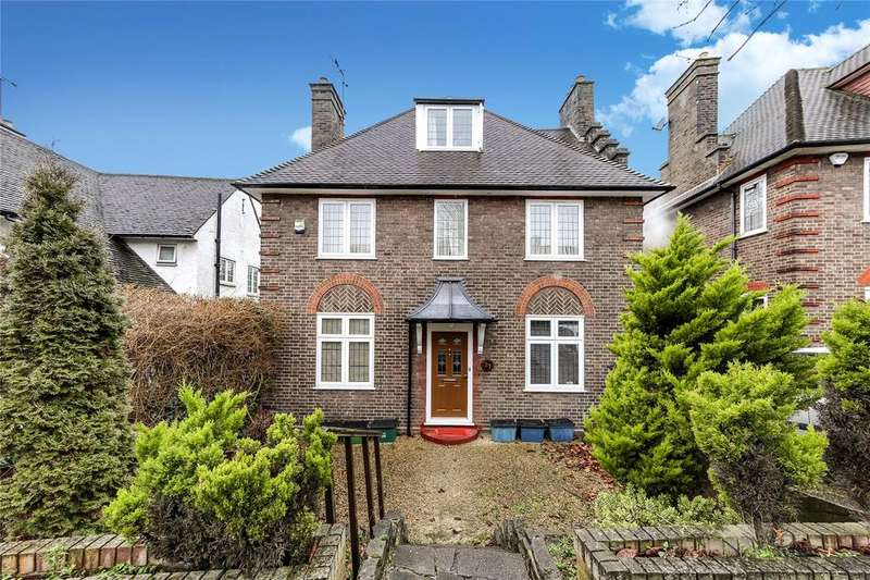 4 Bedrooms Detached House for sale in Pollards Hill West, London, SW16