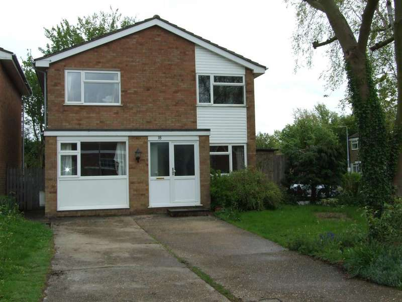 4 Bedrooms Detached House for rent in 18 Red Lion Close, Cranfield, Beds, MK43 0JA