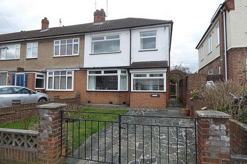 3 Bedrooms End Of Terrace House for sale in Clyde Crescent, Upminster RM14