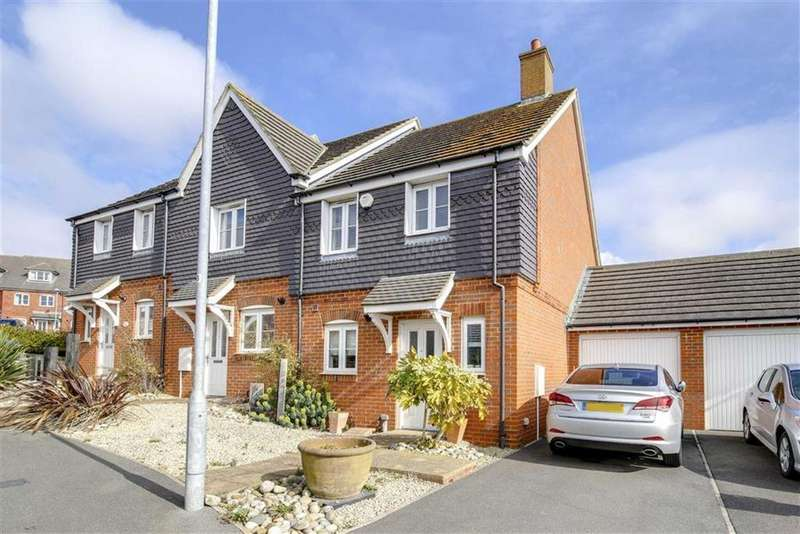 3 Bedrooms Terraced House for sale in Coxwell Close, Seaford