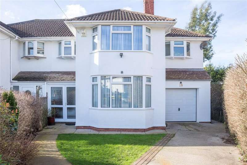 5 Bedrooms Semi Detached House for sale in Withey Close West, Westbury-On-Trym, Bristol, BS9