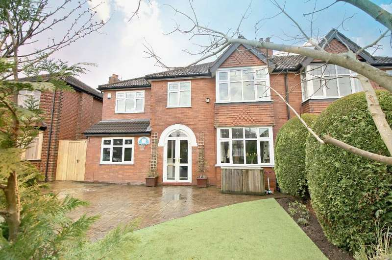 4 Bedrooms Semi Detached House for sale in POYNTON ( OAK GROVE )