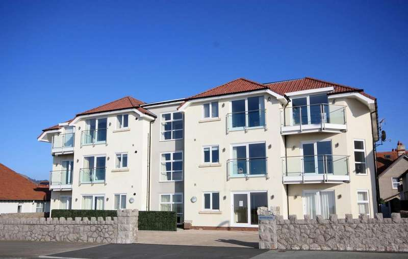 1 Bedroom Apartment Flat for sale in Sunnymede, West Parade, West Shore, Llandudno LL30