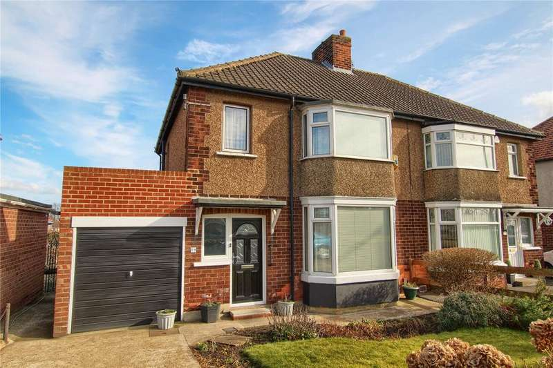3 Bedrooms Semi Detached House for sale in Wolviston Road, Billingham