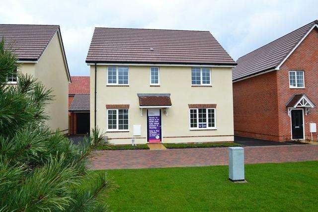 4 Bedrooms Detached House for sale in Plot 13 Greenside, Littlehampton Road, Ferring, West Sussex, BN12 6PN