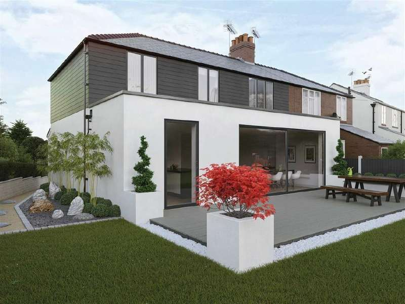 4 Bedrooms Semi Detached House for sale in Lower Heath, Congleton, Cheshire