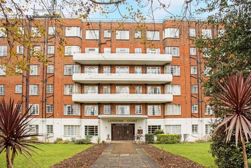 Studio Flat for sale in Langham Court, Wyke Road, Raynes Park, SW20