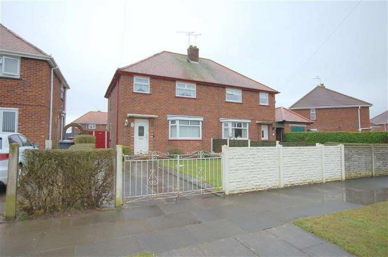 3 Bedrooms Semi Detached House for sale in Marshfield Avenue, Crewe