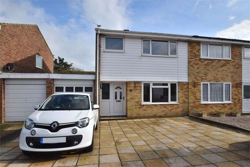3 Bedrooms Semi Detached House for sale in Beatty Road, Langney Point, East Sussex
