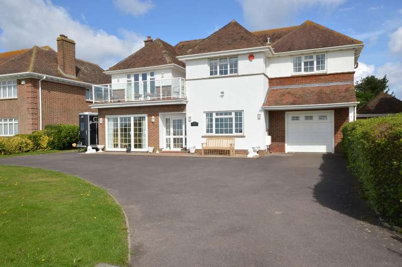5 Bedrooms Detached House for sale in Marine Drive West, Barton on Sea