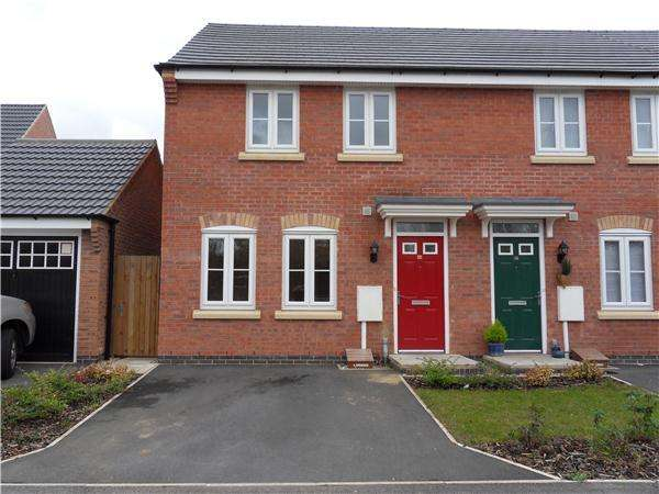 3 Bedrooms Semi Detached House for rent in Fieldfare Close Corby
