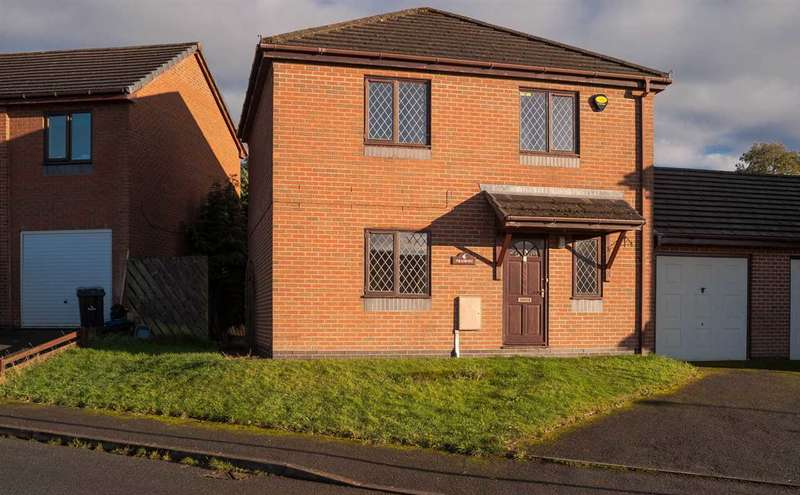 3 Bedrooms Link Detached House for sale in Tramore, Ridgebourne Drive, Llandrindod Wells