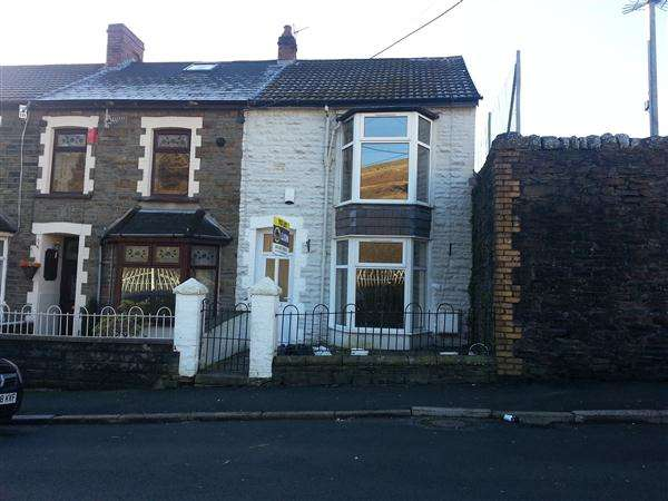 3 Bedrooms End Of Terrace House for sale in Park View, Tylorstown