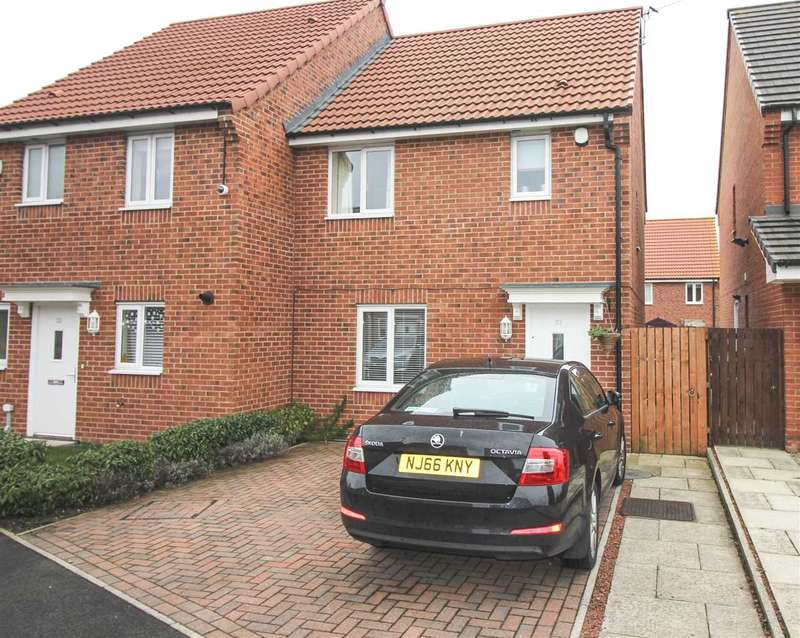 3 Bedrooms Semi Detached House for sale in Alexandra Chase, Cramlington