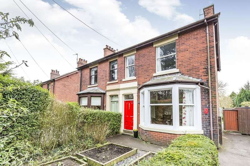 3 Bedrooms Semi Detached House for sale in Garstang Road, Bowgreave, Preston, PR3