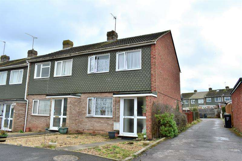 3 Bedrooms End Of Terrace House for sale in Berwick Close, Taunton, Somerset