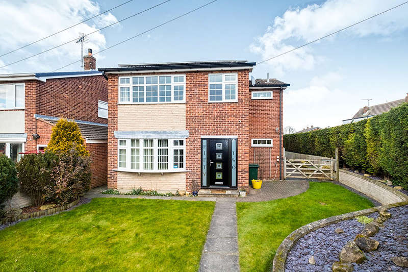 4 Bedrooms Detached House for sale in Edinburgh Drive, North Anston, Sheffield, S25