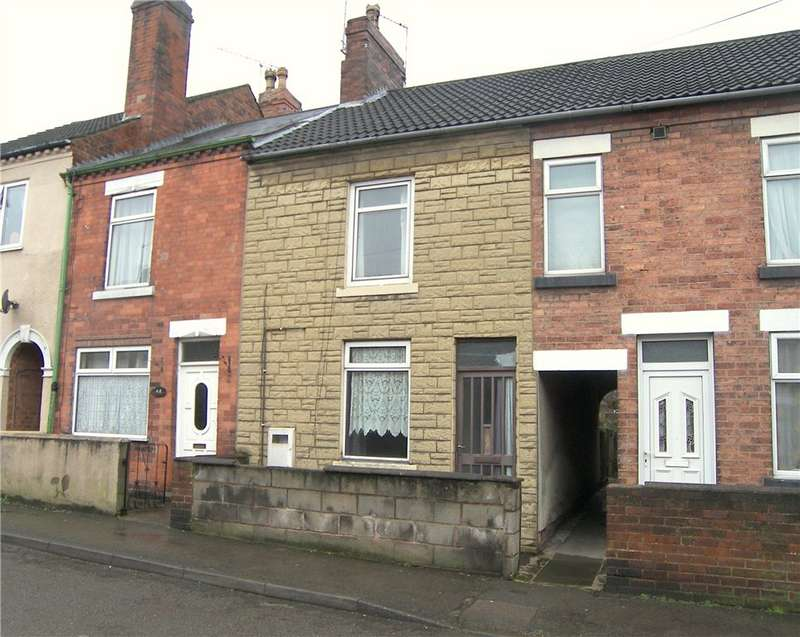 2 Bedrooms Terraced House for sale in Prospect Street, Alfreton, Derbyshire, DE55