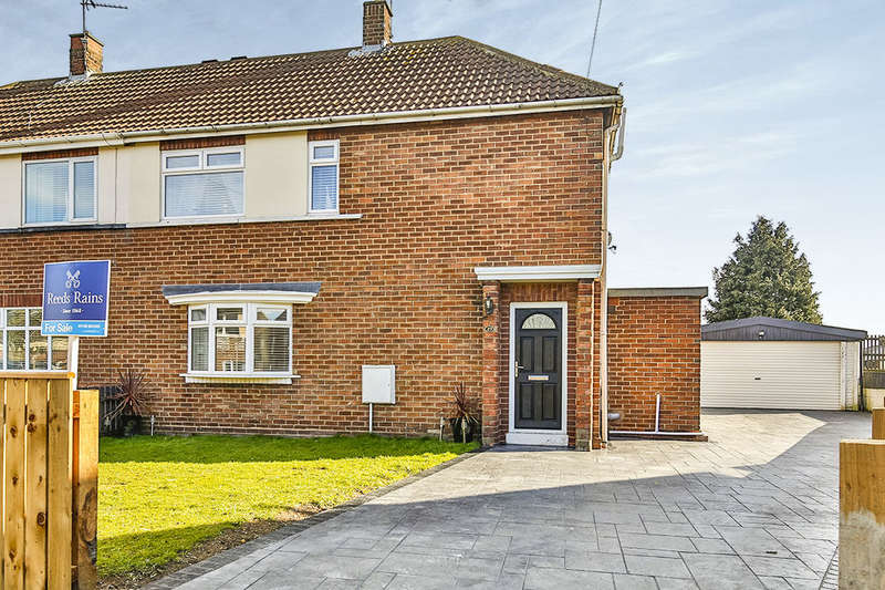 3 Bedrooms Semi Detached House for sale in Lumley Crescent, Ferryhill, DL17