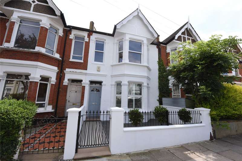 3 Bedrooms Terraced House for sale in Brookwood Road, Southfields, London, SW18