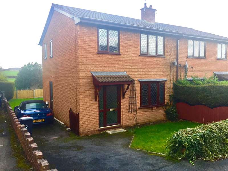 3 Bedrooms Semi Detached House for sale in Cilnant, Mold, Flintshire. CH7 1GG